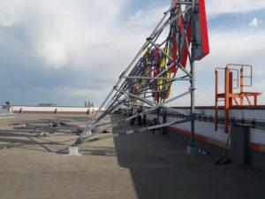Крышная установка - изготовление и монтаж