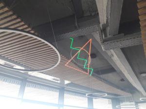 Интерьерные светильники, ресторан Река волгоград